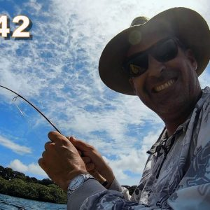 Ep. 42 I'M CERTIFIABLE!! waterproofing a shower, Building a B&B in Bocas del Toro