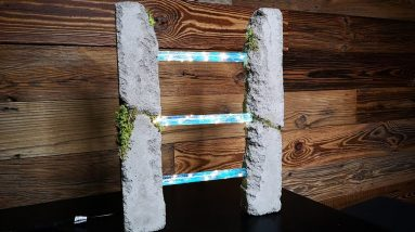 DIY Concrete Epoxy Resin Lamp - Resin Art