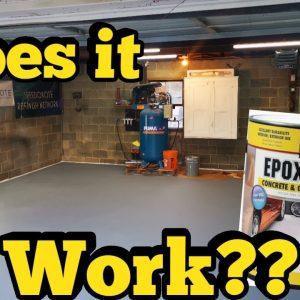 Garage floor epoxy (seal-krete)
