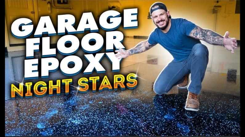 New Garage Floor Epoxy + SAVED $5,000 BY DOING IT MYSELF || Concrete Slab House Reno (Ep.3)