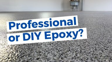 PRO vs. DIY Epoxy Garage Floor Kits :: Whats the difference?