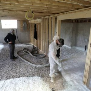 Spray Foam Insulation Contractor - Basement Insulation