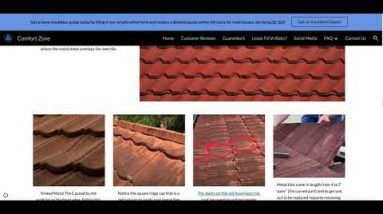 Roof insulation Contractor explaining different roof types, What roof do you have on your home.
