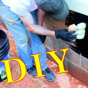 Waterproofing a House's Foundation