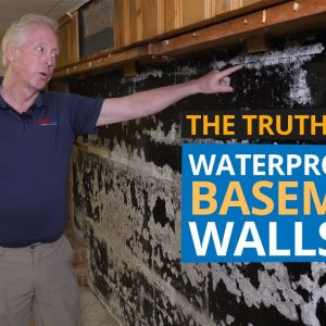 Waterproofing Basement Walls | Finished & UnFinished Basement